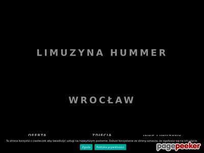 Limuzyna Hummer Wrocław - Hummer Wrocław