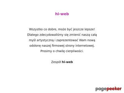 Strony internetowe hi-websites | strony www | reklama internetowa | Poznań