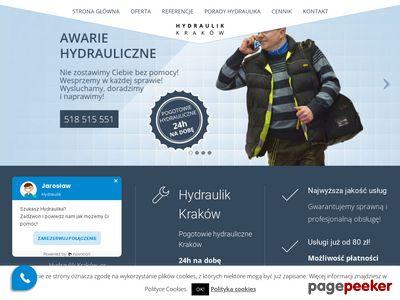 Hydraulik Kraków - pogotowie hydrauliczne, naprawa awarii, czyszczenie, montaż instalacji