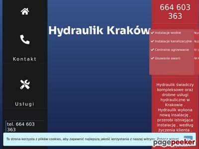 Pogotowie hydrauliczne Kraków