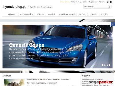 Świat Hyundaia na Hyundai-Blog.pl