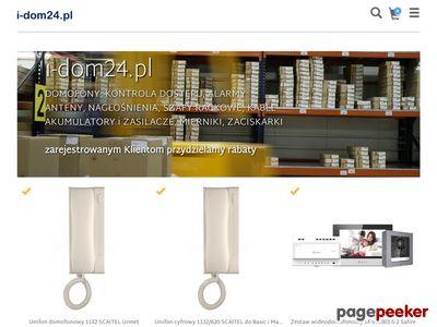 I-dom24.pl - elektrozaczepy, domofony, kontrola dostępu