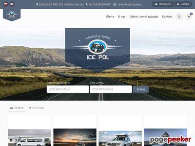 Car rental Iceland, cheap car rental Iceland, wypozyczlnia