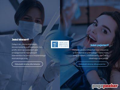 IMP Profesjonalny implantolog www.implantmasterspoland.pl
