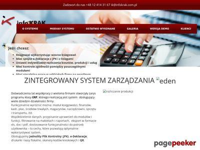 Specjalistyczny system księgowy