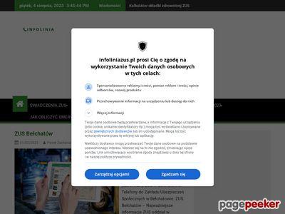 InfoliniaZus.pl - Portal o ZUS