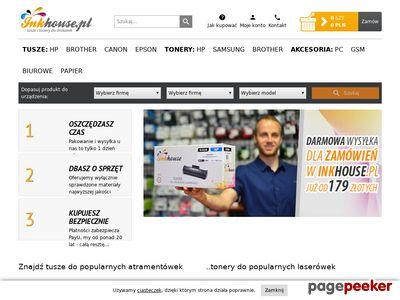 InkHouse.pl - zamów tusze i tonery do drukarek