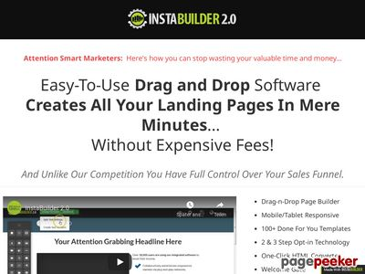 InstaBuilder 2.0 – The Ultimate WordPress Marketing Plugin – InstaBuilder 2.0