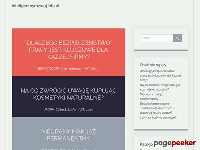 Inteligentnyrozwoj.info.pl - dotacje na innowacje