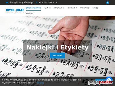 Inter-graf.com.pl - reklama