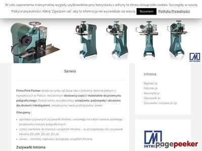 INTROMA serwis części maszyny
