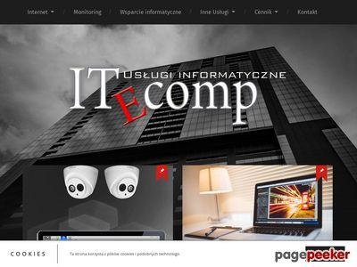 Usługi informatyczne- tanie strony internetowe nowy targ
