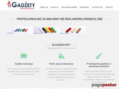 Itgadzety.pl pendrivy reklamowe