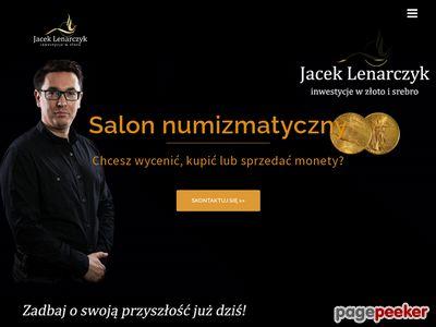 Jaceklenarczyk.pl - numizmatyka Katowice