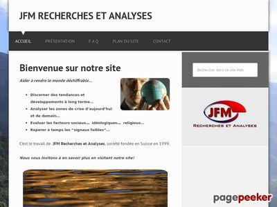 >JFM Recherches et Analyses Sàrl (Fribourg) - A visiter!