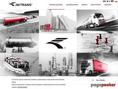 JM Trans Transport ponadnormatywny
