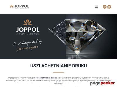JOPPOL - produkcja opakowań uszlachetnianych