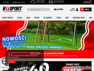 Kafcio k-sport sprzęt sportowy
