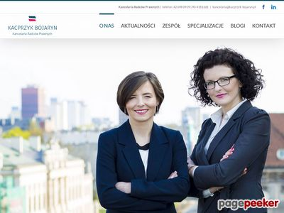 http://kacprzyk-bojaryn.pl - Kancelaria Prawna