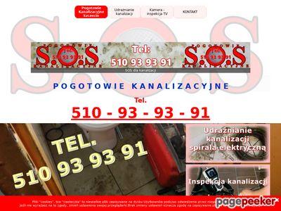 Pogotowie Kanalizacyjne Szczecin - Tel. 510 93 93 91