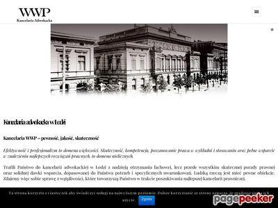 Kancelaria adwokacka w Łodzi - kancelaria-wwp.pl