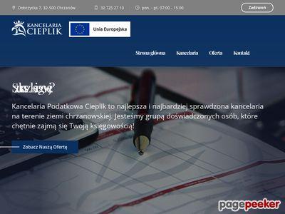 Biuro Podatkowo – Rachunkowe Kancelaria Podatkowa Jolanta Cieplik
