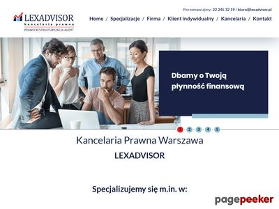 Kancelarialexadvisor.pl - pomoc dla zadłużonych firm