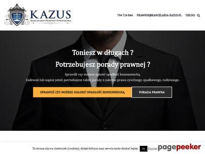 Kancelaria Prawno - Podatkowa KAZUS Worek Mateusz