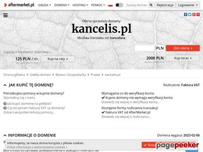 Zarządzanie kancelarią prawną - kancelis.pl