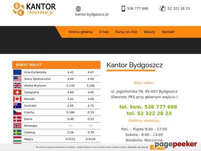 Kantor Bydgoszcz quot; Moneyquot; ul.Jagiellońska 58 (Dworzec PKS)