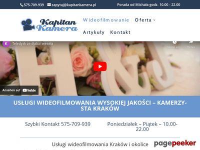Filmowanie wesel i ślubów - Kapitan Kamera