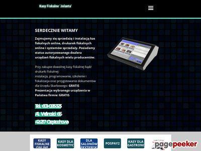 Kasy fiskalne, terminale Częstochowa - 601-093-323