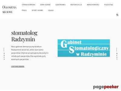 Vitadent Gabinet Stomatologiczny Maria Frąckowiak, Vitadent Koszalin, Vitadent Maria Frąckowiak