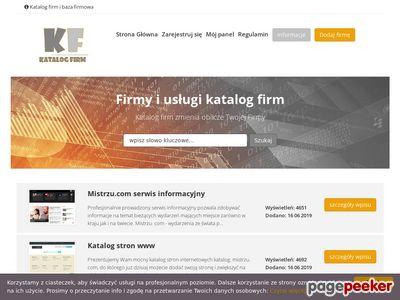 Baza firm Katalog-firmy.biz