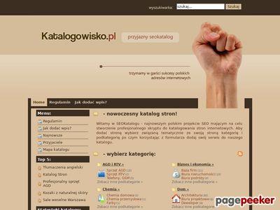 Spis stron www - katalogowisko.pl