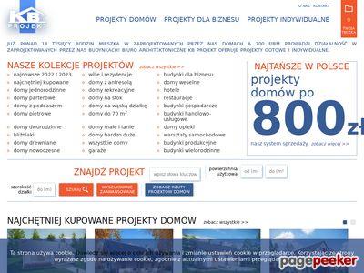 KB Projekt - projekty domów
