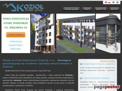 Mieszkania na sprzedaż w Krakowie - Kig Developer