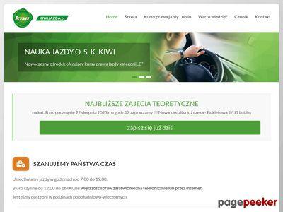 OSK Kiwi nauka jazdy Lublin