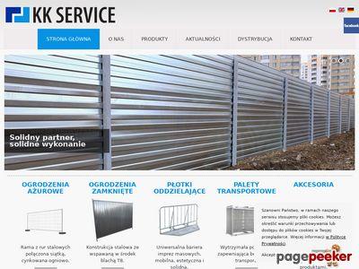 Ogrodzenia budowlane - KK SERVICE