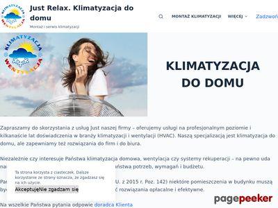 Klimatyzacja dla domu - klimatyzacja-justrelax.pl