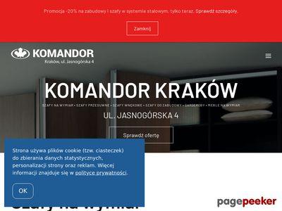Szafy Komandor Kraków