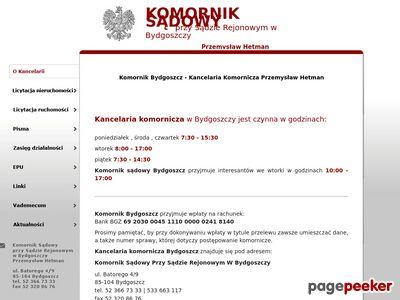 KOMORNIK SĄDOWY P. HETMAN komornik Bydgoszcz