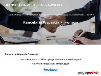 Blokada konta - nasi prawnicy pomogą, komornikstop.pl