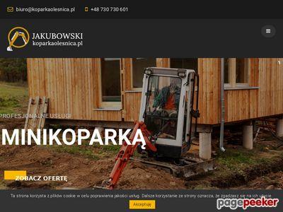 Jakubowski - usługi koparką