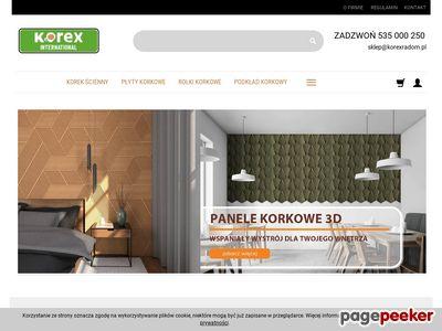 Podkład korkowy Korexradom.pl