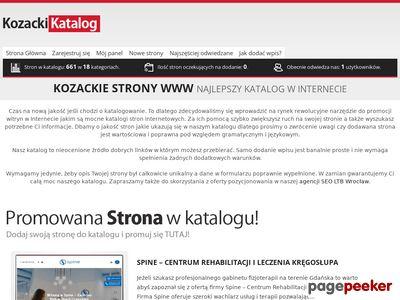 Kozackikatalog.pl - katalog stron SEO