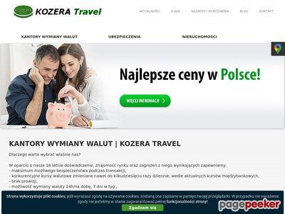 Kantory wymiany walut - kozera-travel.pl