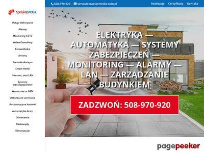 Alarmy Kraków KrakSatMedia