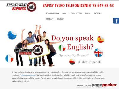 Kredkowski Express kurs języka angielskiego Zgorzelec