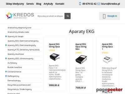 Kredos.pl elektrokardiograf ascard